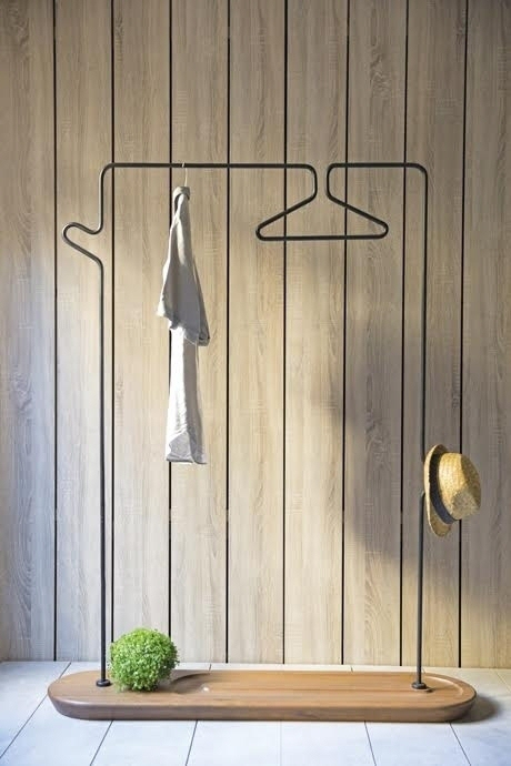 more unusual designs for clothes hangers core77. Black Bedroom Furniture Sets. Home Design Ideas