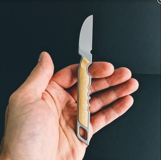 3Coil Design's Crane Knife Portable Scalpel and Puna Multitool - Core77