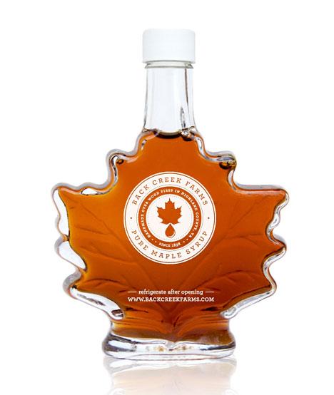 Maple syrup bottle design