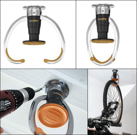Compact Overhead Bike Storage Core77