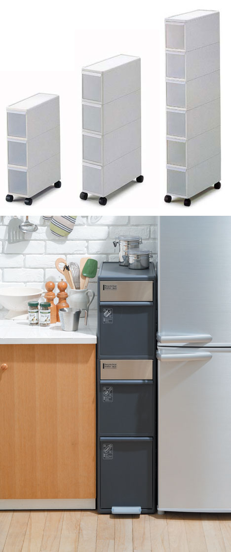 Super Narrow Anese Drawers For Micro Living