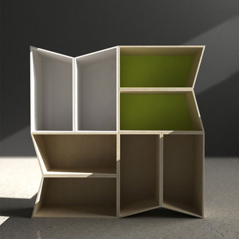Cheeky Boxes Puts A Nice Slant (sorry) On Basic Shelving And Storage;