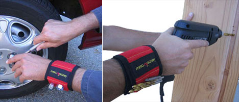 DIY'ers: The Magnogrip keeps things close at hand (or wrist) - Core77