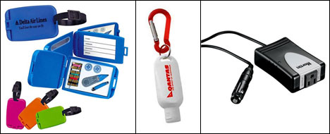 Spread your brand name with your business associates wherever they go with luggage tags