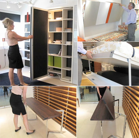 Space Savers Furniture getting space-saving furniture right: resource furniture - core77