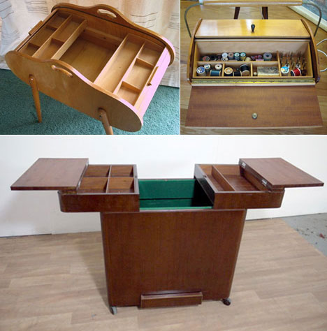 Unusual Cabinets sewing furniture, part 4: unusual medium-sized cabinets - core77
