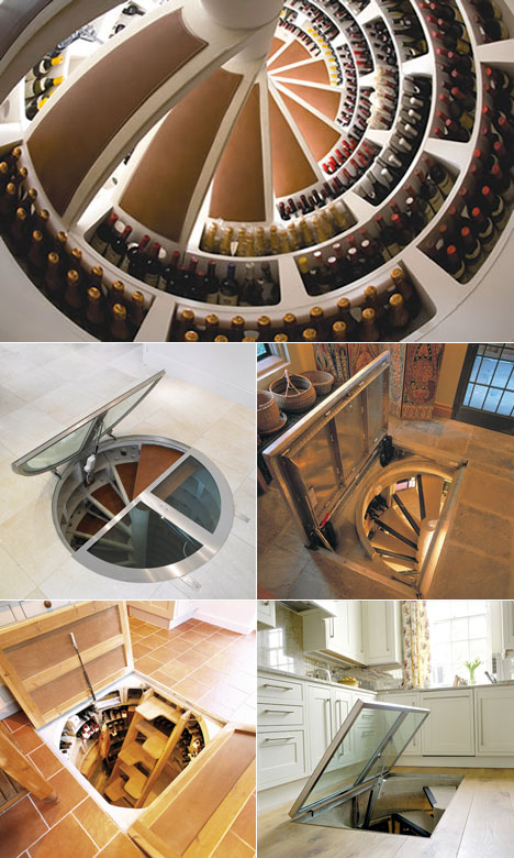 Upcoming inventions davison creators part 2 for Spiral wine cellar cost