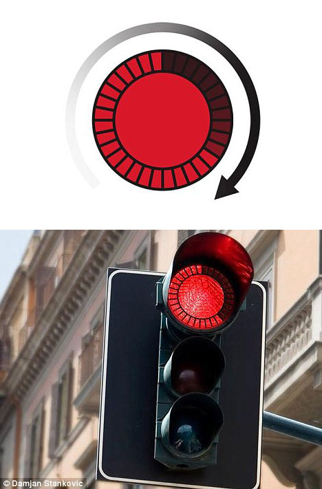 Countdown trafficlight by Stankovic