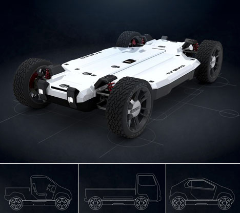 Elektroauto: Trexa entwirft Plattform für Open Source Auto