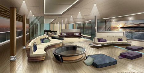 The future of superyacht interiors is probably not going for Interior design di casa di lusso