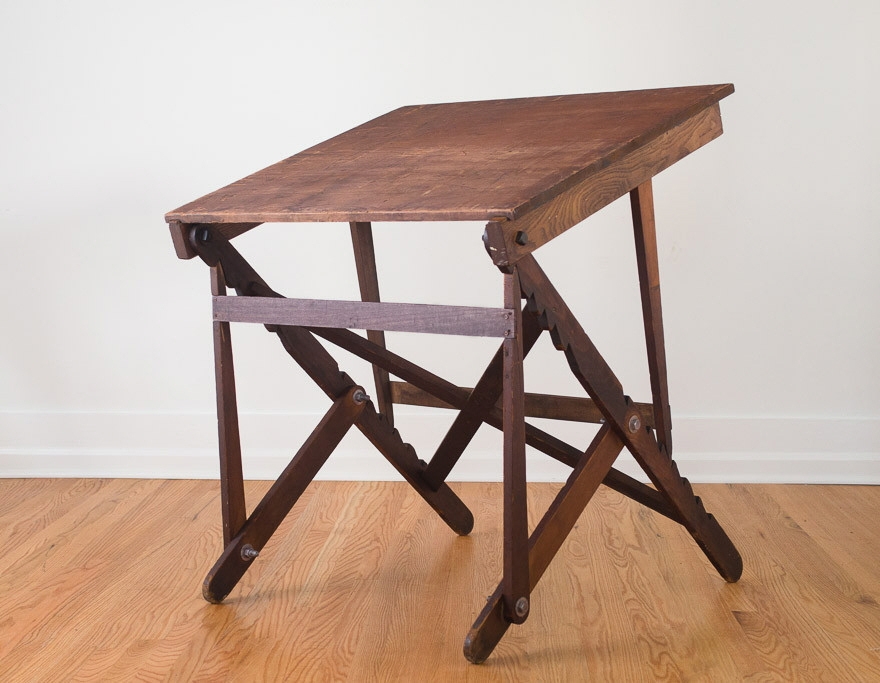Vintage Drafting Table Designs: A 19th Century Company Working Out The  Details
