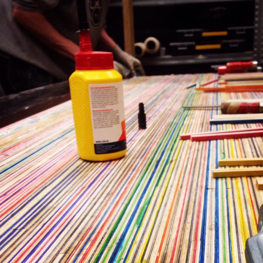 The Deckstop: Desktops Made From Trashed Skateboard Decks
