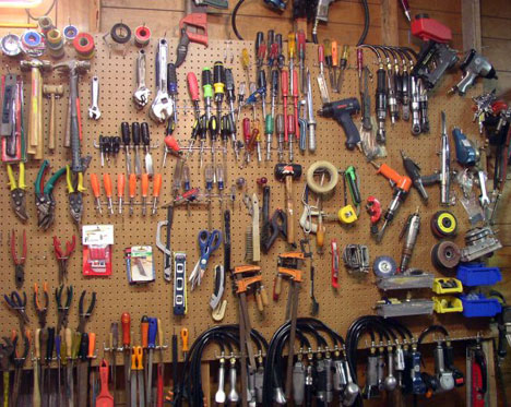 Exceptional The First Benefit Of Pegboard Is Obvious  It Allows You To See Everything  In Your Collection At Once.
