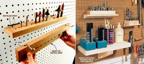 The basics of tool organization systems, Part 1: Pegboard - Core77