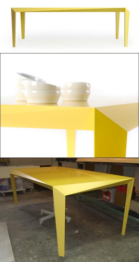core77 table reinier de jongs latest the volt table core77