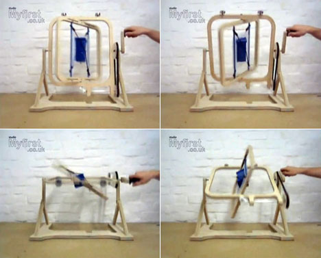 Flat Pack Rotation Molding Machine Core77