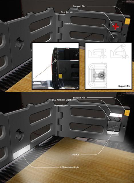 Homemade truck bed organizer - Homemade truck bed storage ...
