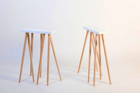 When Not Employed As Table Legs, They Can Be Used Informally, As Tall  Stools.