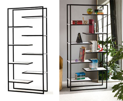 simple but unusual bookcasesfaktura designs - core77