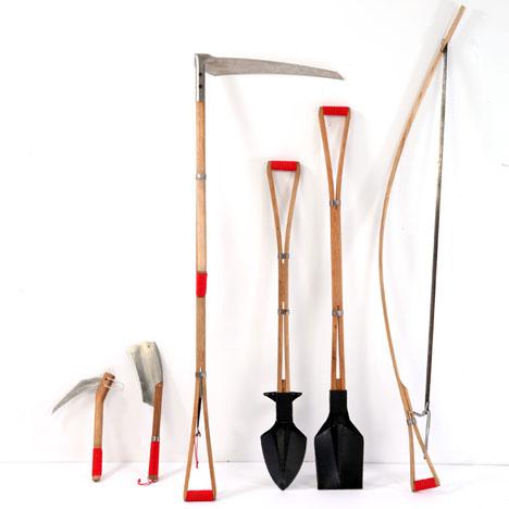 Itay laniado 39 s farm tools for your garden core77 for Garden design equipment