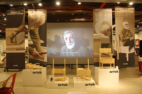 Enzo Mari on Film Arteks Short Documentary of Autoprogettazione
