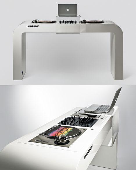 David Kornmann DJ Table