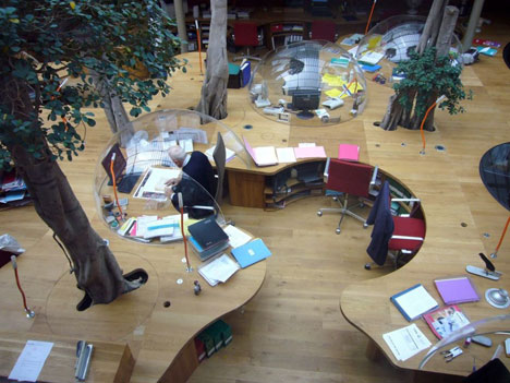A Table Through the Forest Awardwinning Office Design Core77