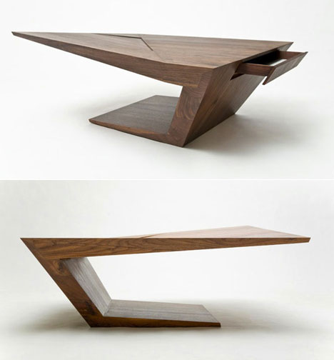 Makemei 39 s gorgeous furniture pieces core77 Contemporary coffee tables design
