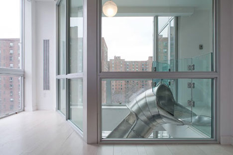 Apartment Design Nyc nyc slide apartment: design, context and perception - core77