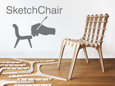 Kickstart Diatoms SketchChair Furniture Designed By You