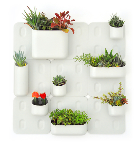 Urbio Is A Wall Mounted Magnetic Gardening Kit That Represents An  Interesting Solution To The Physical Limits Of The Modern Urban Home, A  Twist On The ...