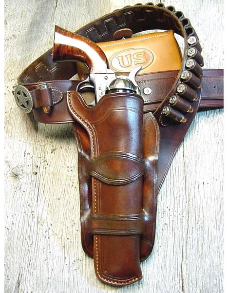 Cowboy movie holsters