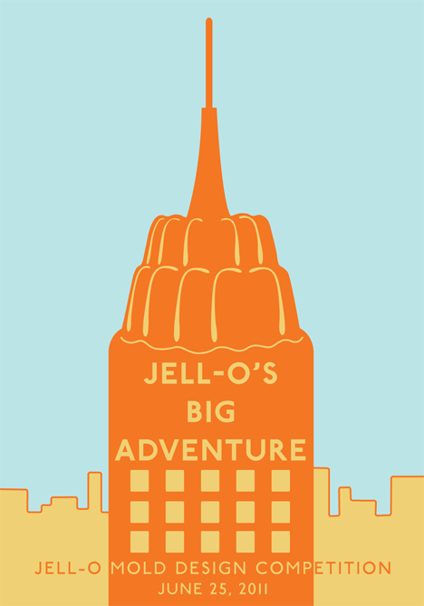 Jell O Mold 2011 Design Competition Nyc Get Your Wobble