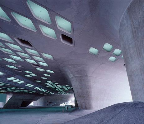 buildings we love phaeno science center by zaha hadid core77. Black Bedroom Furniture Sets. Home Design Ideas