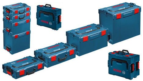 Wonderful Like The Festool Systainer, Boschu0027s Take On Modular Portable Tool Storage  Is Stackable, Lockable, Durable And Has Handles On Different Sides So They  Can Be ...