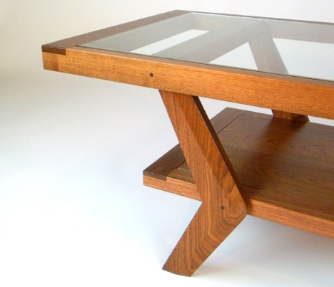 core77 table mid century goes 21st century custom furniture by gitane workshop