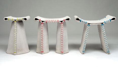 Florian Schmids Concrete Canvas Seating Core77