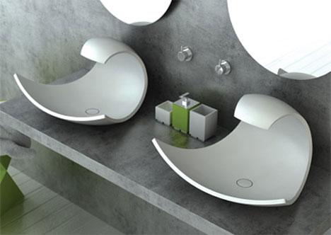 Eaux Eaux Wavelike Bathroom Sink Concept Core77