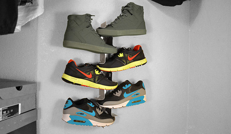Flotspotting Quot Shrine Shoe Rack Quot Brings Hip Sneaker