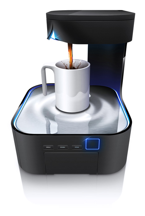 Coffee Maker Design Problem : the daily brot: HJC Design - Peel Coffee Maker