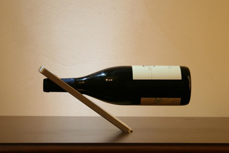 Cantilever wine bottle holder plans plans diy free download building an end table plans home - Wine bottle balancer plans ...