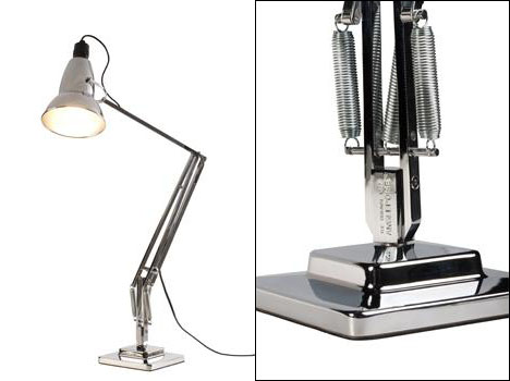The Story Of Modern Desk Lamp Part 1 Its Invention Was Based On British Car Suspensions