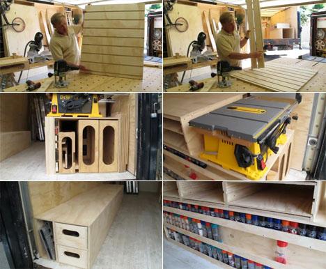 Ron Paulk 39 S Mobile Super Workshop Part 3 Building The