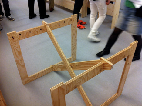 Temporary Furniture the best of design tide tokyo 2011,nikkei design editor junya