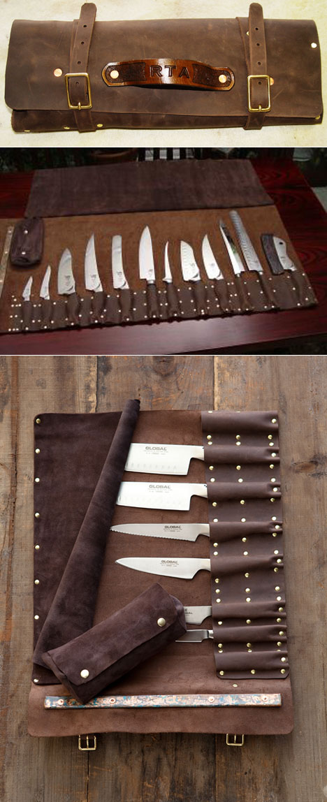 Kitchen Knife Set With Case