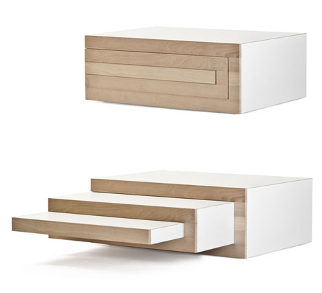expandable furniture.  expandable year reinier de jong designs a new piece that catches our eye and for  2012 heu0027s graced us with the rek coffee table related to his expandable bookcase throughout expandable furniture w