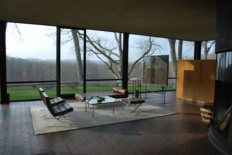 Philip Johnson Glass House conserving donald judd at the philip johnson glass house core77