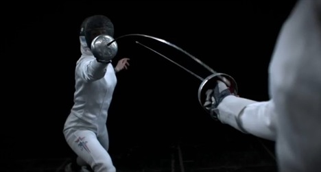 Holly Buechel's fencing film