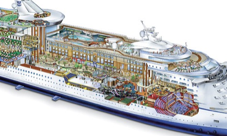 Cruise Ship Schematics Fitbudhacom