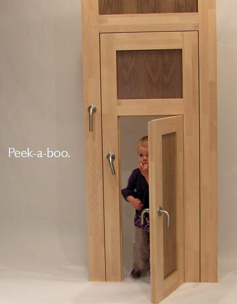 Something Like A Pet Door For Children Of Differing Ages, The ThreeStyle Is A  Door Within A Door Within A Door, Adding Three Sets Of Hinges, Three  Latches ...